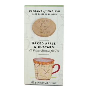 Mintons Good Food ARTISANBISCUITS Baked Apple & Custard Biscuits     Size - 12x125g