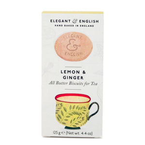 ARTISAN BISCUITS, Mintons Good Food, ARTISAN BISCUITS Lemon & Ginger Biscuits            Size - 6x125g,