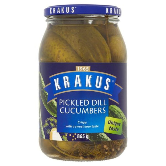 COTSWOLD, Mintons Good Food, KRAKUS Pickled Dill Cucumber              Size - 6x920,