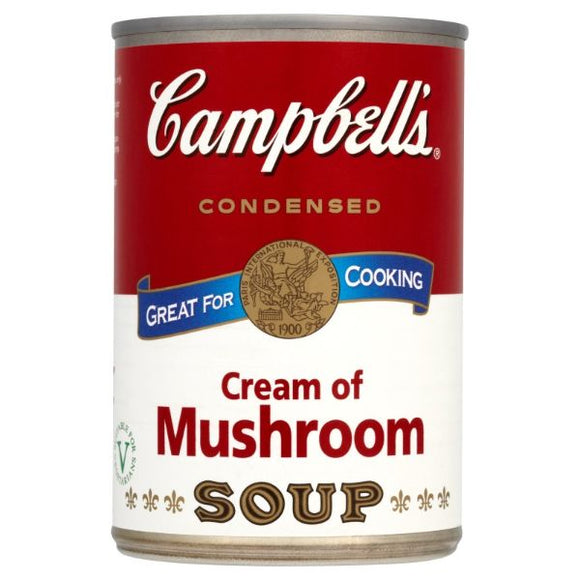 Mintons Good Food CAMPBELLS Cream Of Mushroom                  Size - 6x295g