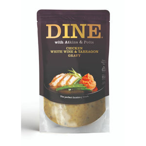 Mintons Good Food ATKINS & POTTS Chicken Gravy White Wine & Taragon Size - 6x350g