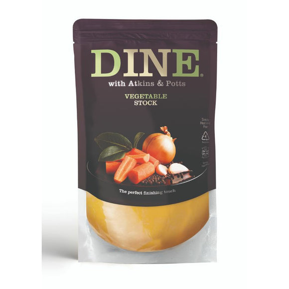 ARTISAN GRAINS, Mintons Good Food, ATKINS & POTTS Vegetable Stock                    Size - 6x350g,