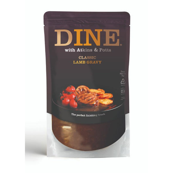 Mintons Good Food ATKINS & POTTS Lamb Gravy                         Size - 6x350g