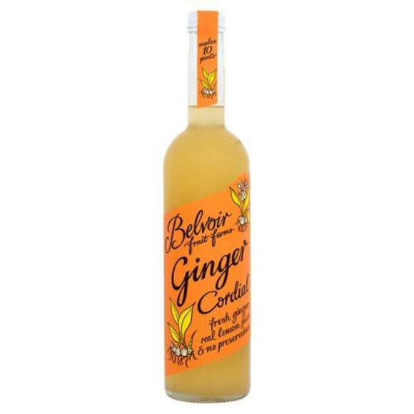 Mintons Good Food BELVOIR CORDIAL Ginger Cordial                     Size - 6x50cl