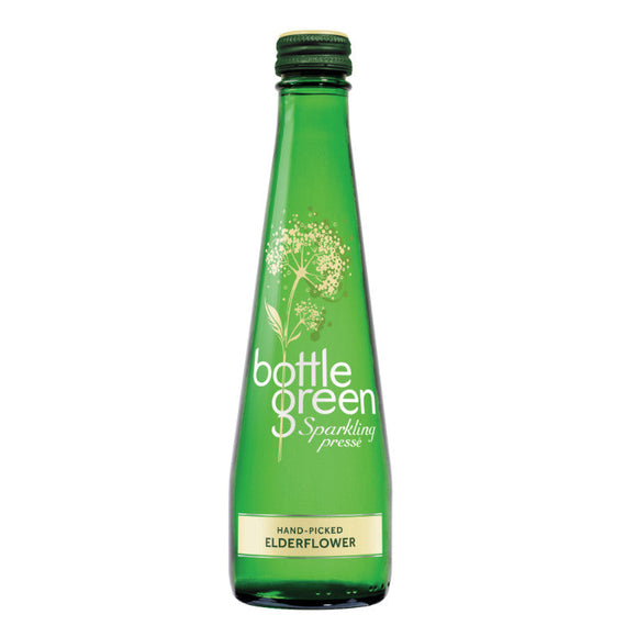 Mintons Good Food BOTTLE GREEN PRESSE Elderflower Presse                 Size - 12x275ml