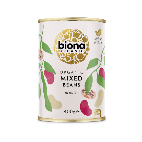 Mintons Good Food BIONA Organic Mixed Beans                Size - 6x400g