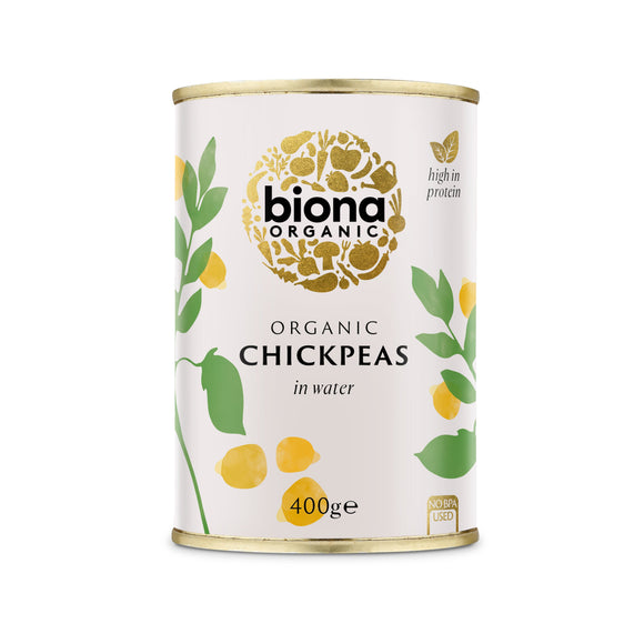 Mintons Good Food BIONA Organic Chickpeas                  Size - 6x400g