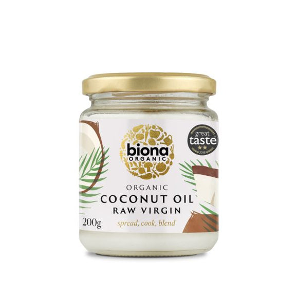 Mintons Good Food BIONA Organic Virgin Coconut Oil         Size - 6x200g