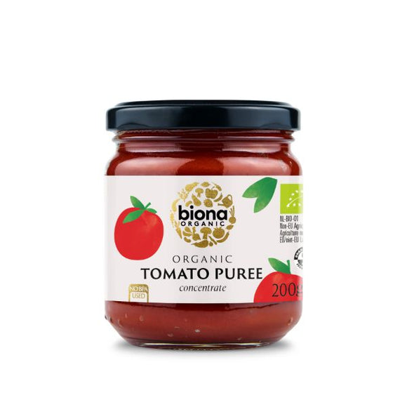 Mintons Good Food BIONA Organic Tomato Puree               Size - 6x200g
