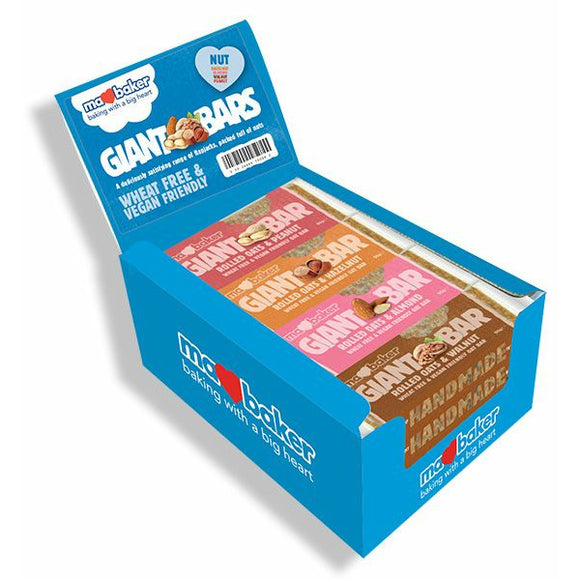 MA BAKER Mixed Giant Nut Bars               Size - 20x90g