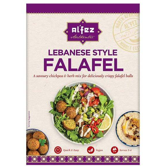 Mintons Good Food ALFEZ Falafel Mix                        Quantity : Size - 12x150g