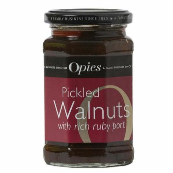 OPIES Pickled Walnuts In Port            Size - 6x370g