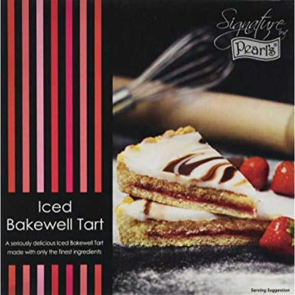 Mintons Good Food PEARLS Iced Bakewell Tart                 Size - 6xLarge