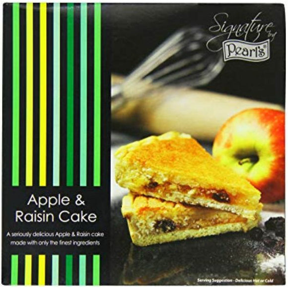 Mintons Good Food PEARLS Apple & Raisin Cake                Size - 6xLarge