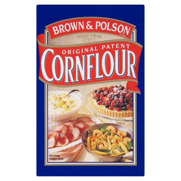 Mintons Good Food BROWN&POLSON Cornflour                          Size - 12x250g
