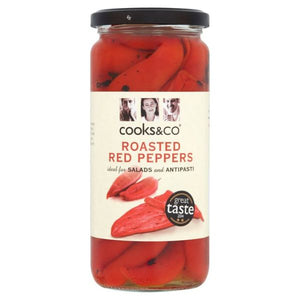 COOKS & CO Sweety Drop Red Peppers            Size - 6x235g