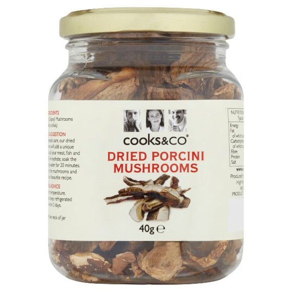 Mintons Good Food COOKS & CO Porchini Mushrooms                 Size - 6x40g