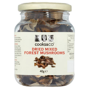 BORDER CLASSICS, Mintons Good Food, COOKS & CO Mixed Mushrooms                    Size - 6x40g,
