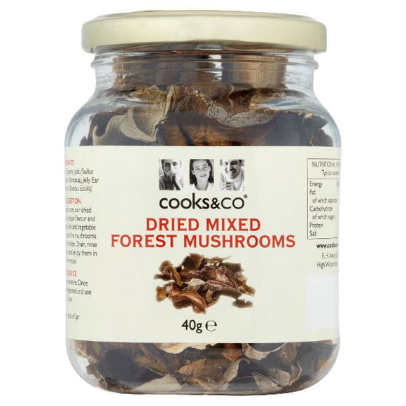 Mintons Good Food COOKS & CO Mixed Mushrooms                    Size - 6x40g