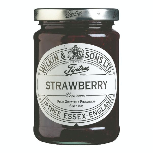 EAT NATURAL, Mintons Good Food, TIPTREE Strawberry Conserve                Size - 6x340g,