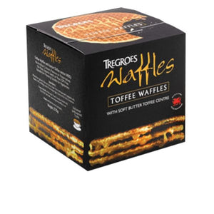 Mintons Good Food TREGROES WAFFLES Toffee Waffles (Box)               Size - 6x8's