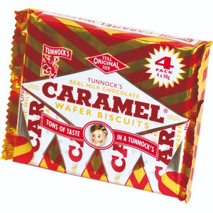 Mintons Good Food TUNNOCKS Caramel Wafers                     Size - 40x4s