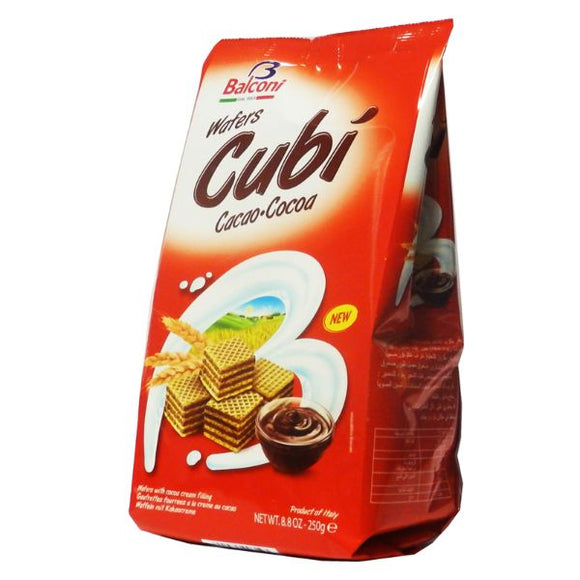 Mintons Good Food CABICO Cubis Chocolate Wafers             Size - 10x250g
