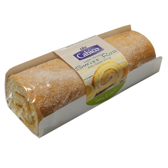 Mintons Good Food CABICO Lemon Swiss Roll                   Size - 6x300g
