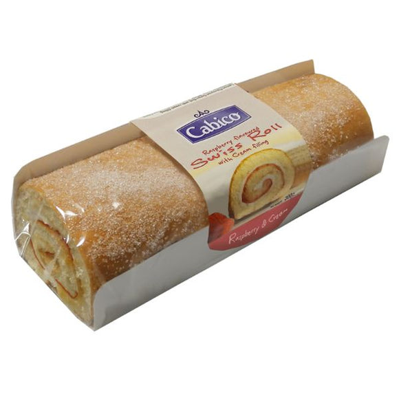 Mintons Good Food CABICO Raspberry Swiss Roll               Size - 6x300g