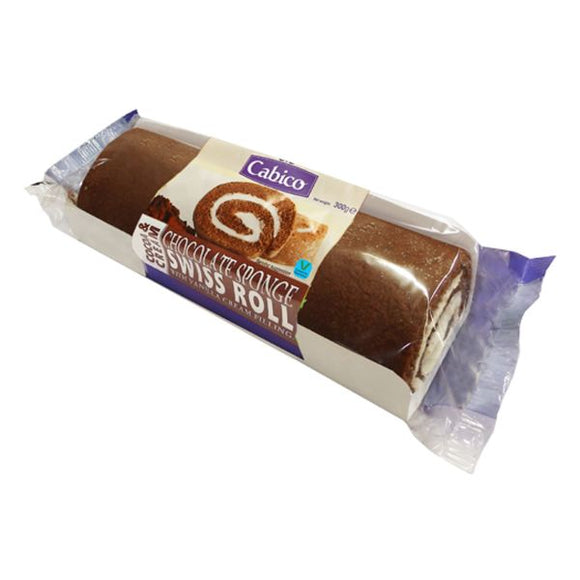 CABICO Chocolate Swiss Roll               Size - 6x300g