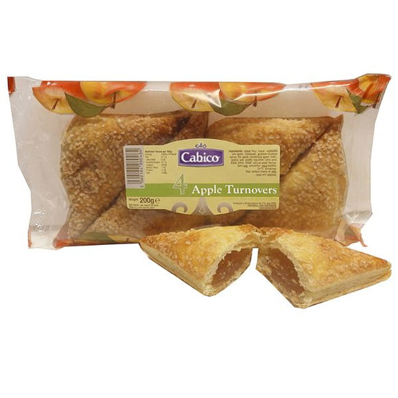 Mintons Good Food CABICO Apple Turnovers                    Size - 12x4
