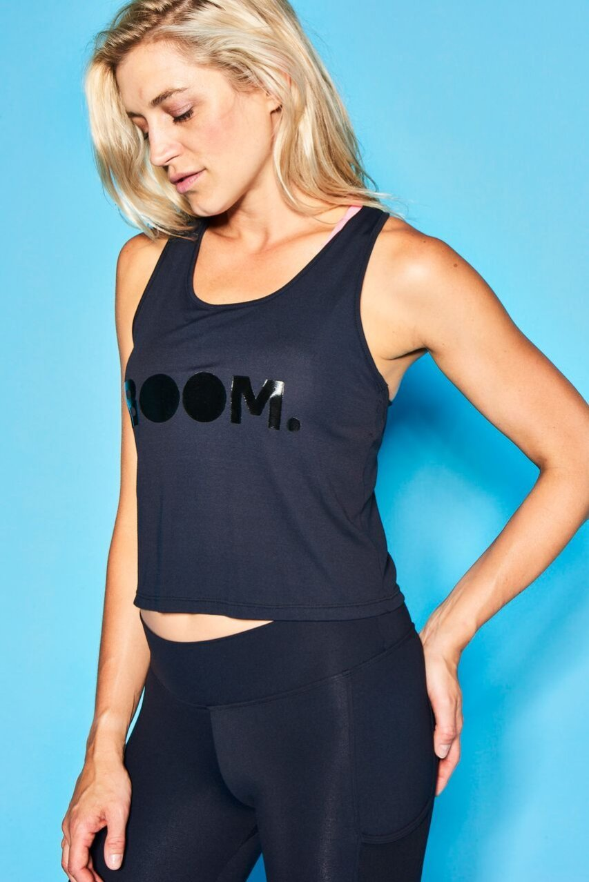 Boom Cycle 'BOOM' Crop Top