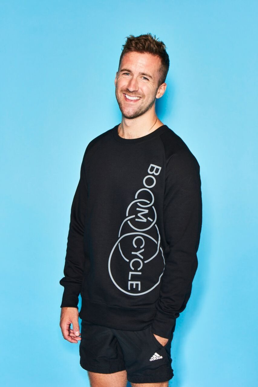 Boom Cycle Grey Sweatshirt