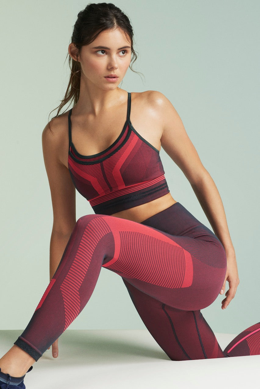LNDR Cosmos Leggings in Fluro Pink