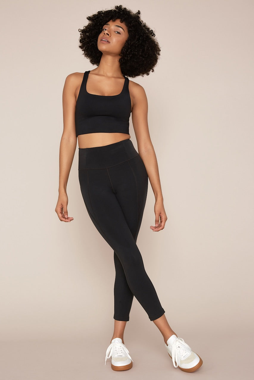 Girlfriend Collective Black Leggings