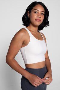 Girlfriend Collective Ivory Sports Bra