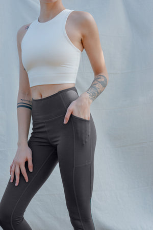 Girlfriend Collective Moon Pocket Leggings