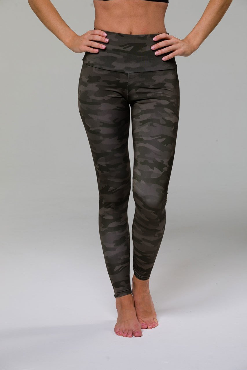 Onzie High Rise Camo Legging