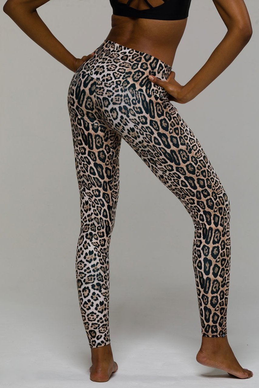 Onzie High Rise Leopard Legging