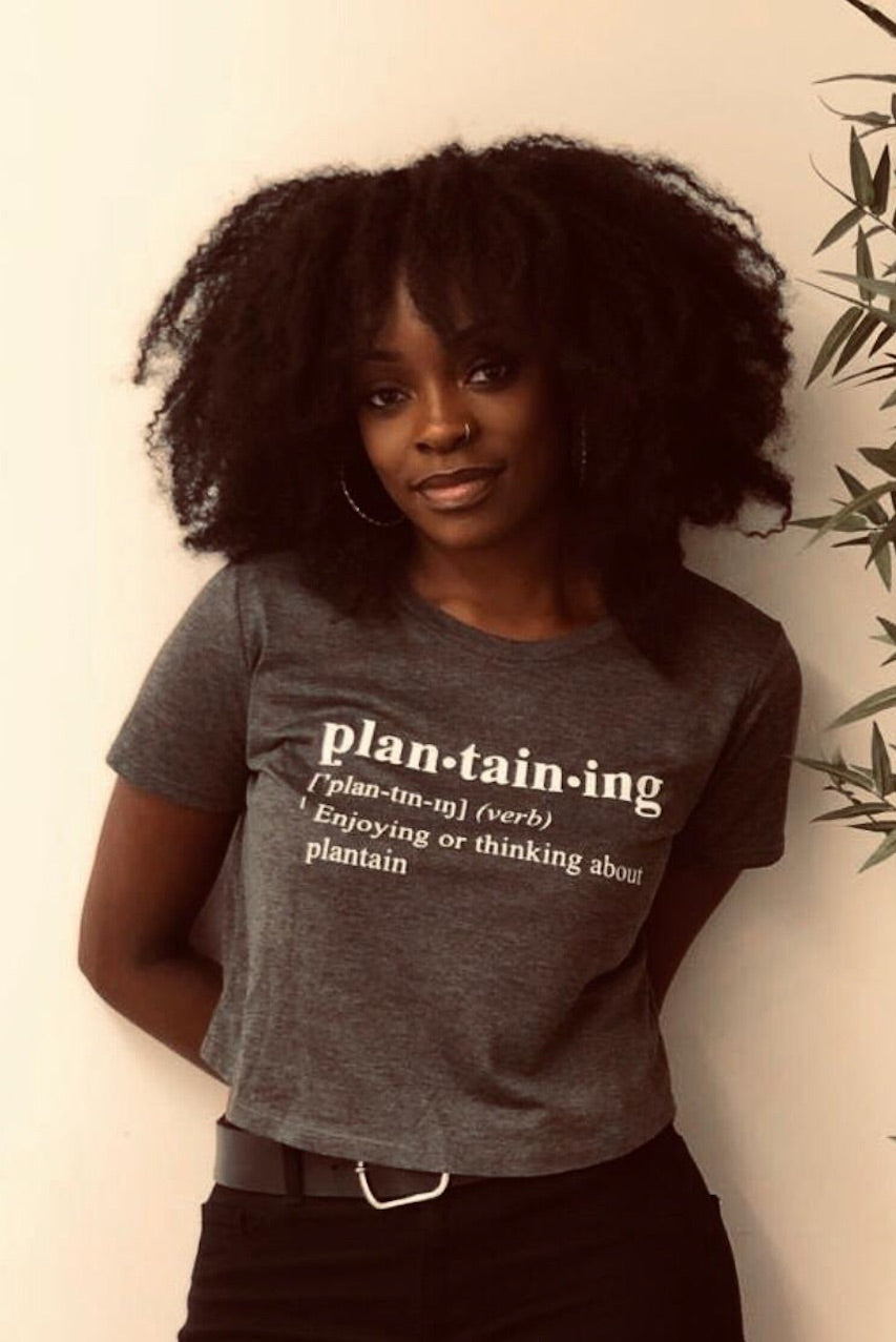 Everyday Froday Plantaining Crop Tee