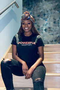 Everyday Froday Powerful Woman Crop Tee