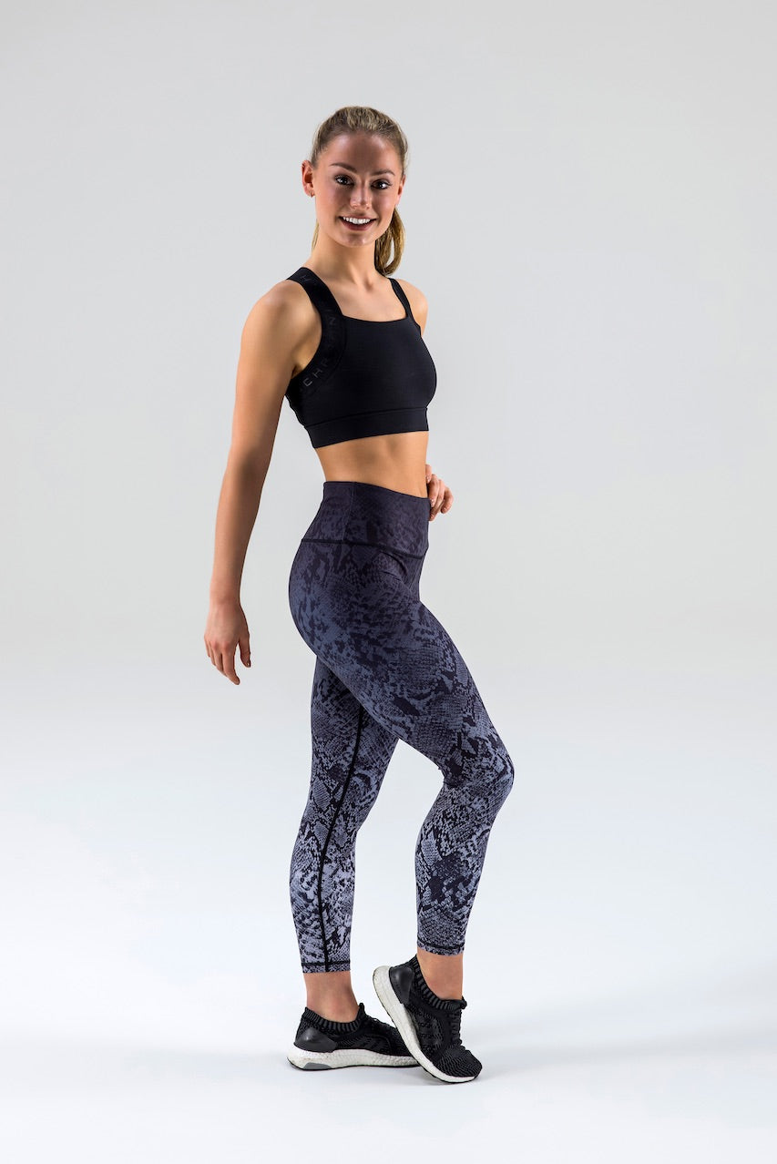 Born Nouli Steel Snake Leggings Side