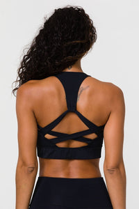 Onzie Warrior Bra in Black