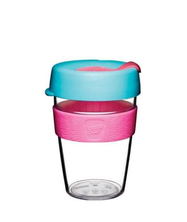 KeepCup 12oz Clear Radiant
