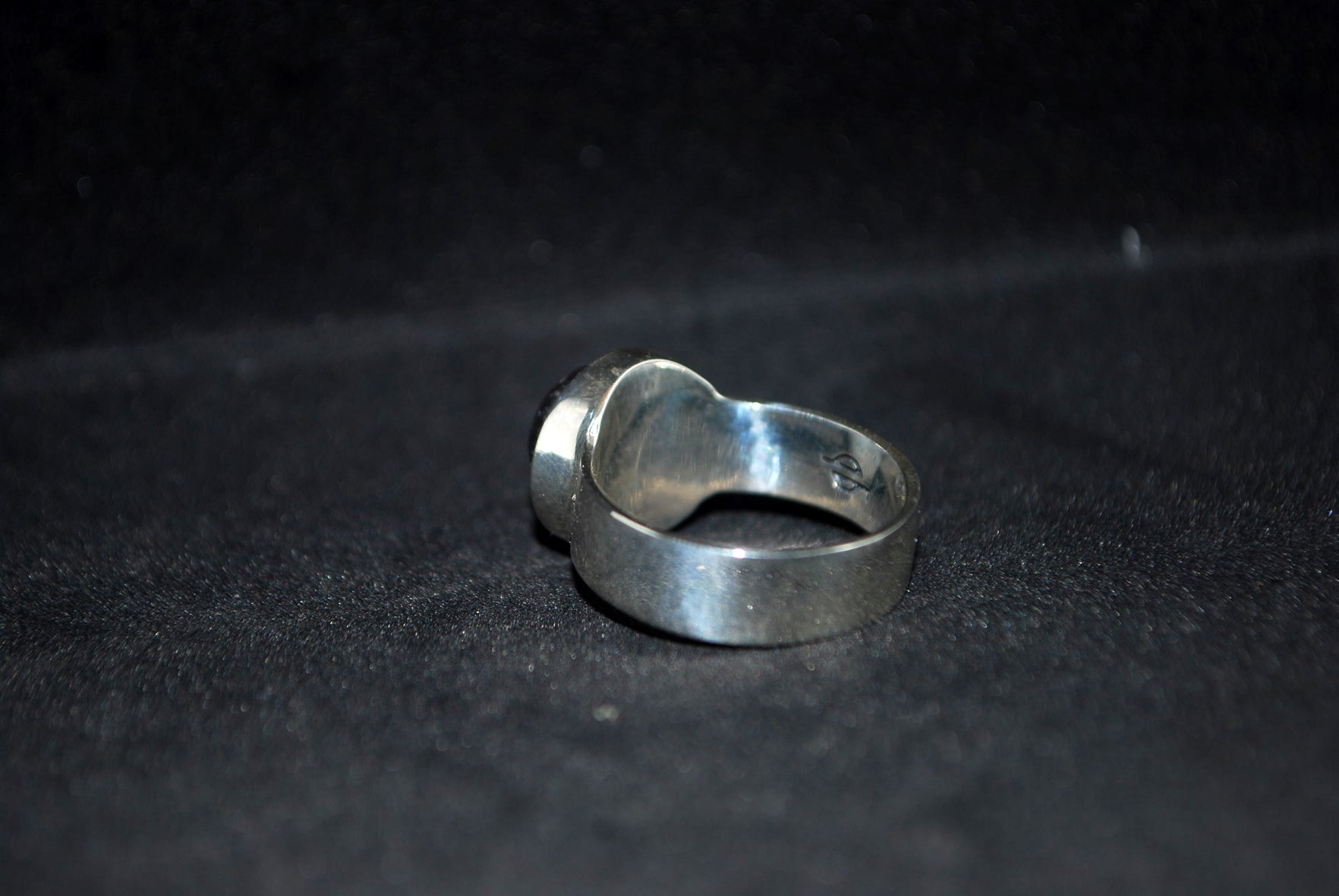 Lava Cup Cake-Silver-ring