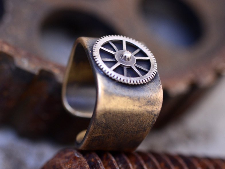 Gears on Mars-Brass-Ring