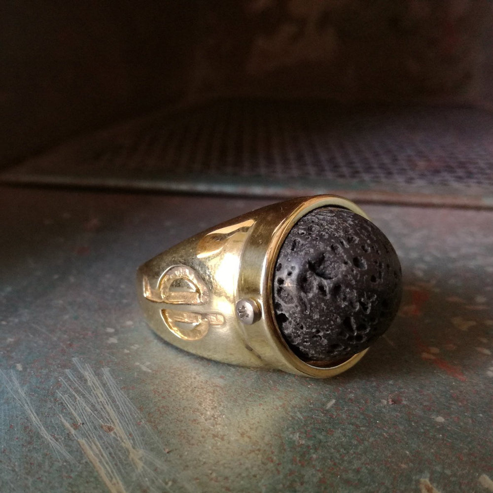 Rock-Lava-Brass-Ring