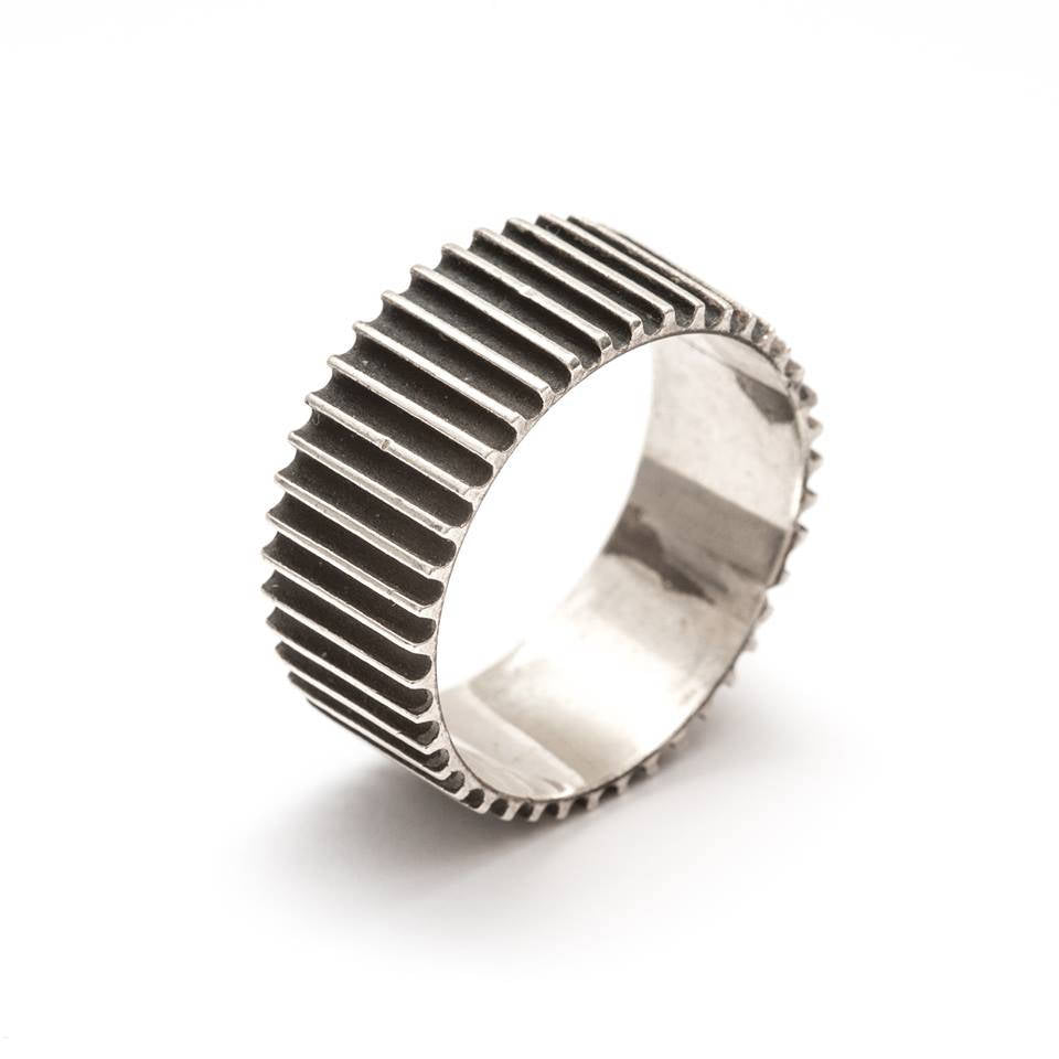 Big Gear-Silver-Ring