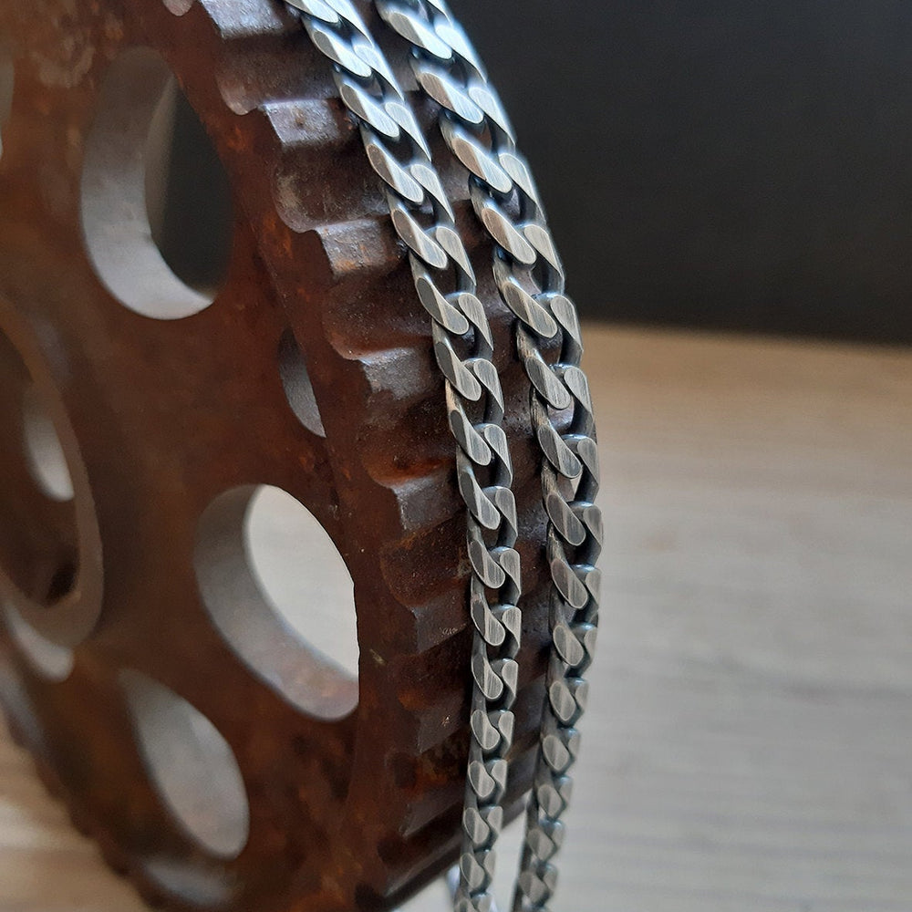 Panzer-Curb-Links-Silver-Chain-6.6