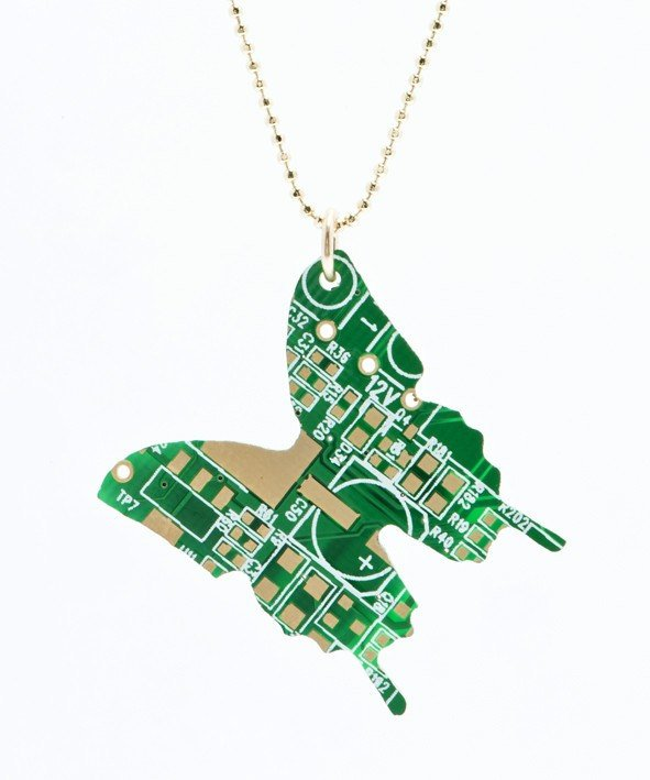 Cyber Butterfly-Necklace
